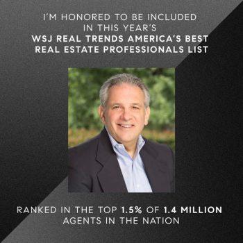 WSJ Real Trends America's Best Real Estate Professionals List - David Guercio